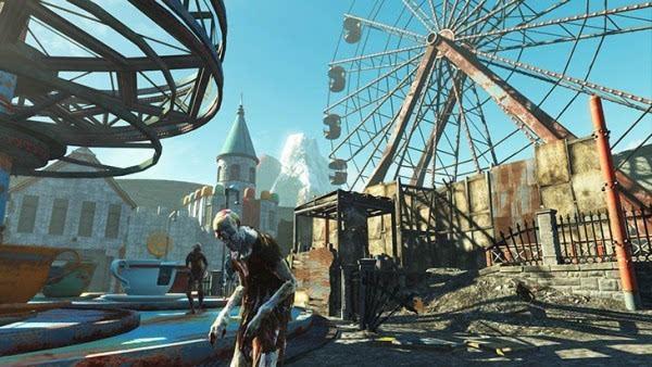 """《辐射4》的终极DLC""""核子世界""""正式上线的照片"""