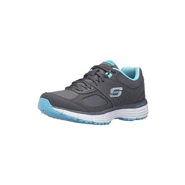 ramp up 女士运动鞋秉承一贯踩屎脚感,采用flexsole轻量级减震鞋底