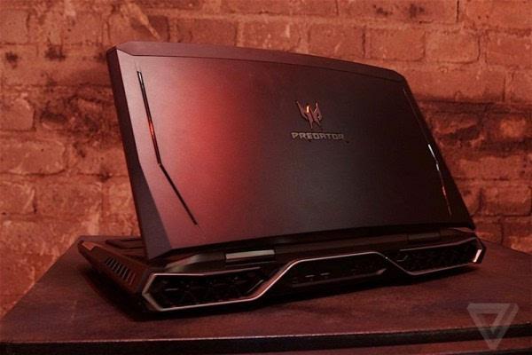 Acer Predator 21 X游戏本亮相: 21吋2K弧形屏+双GTX1080的照片 - 2