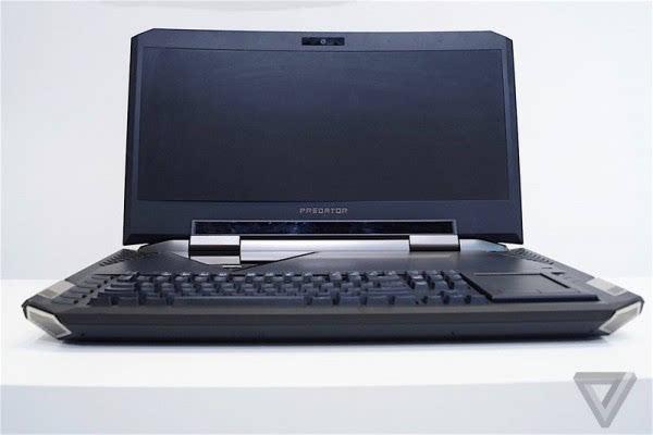 Acer Predator 21 X游戏本亮相: 21吋2K弧形屏+双GTX1080的照片 - 12