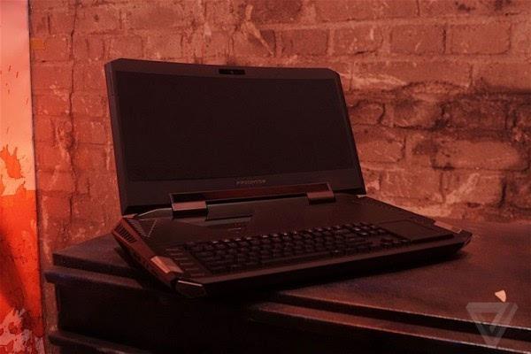Acer Predator 21 X游戏本亮相: 21吋2K弧形屏+双GTX1080的照片 - 14