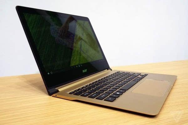 打响1cm战役:Acer发布超薄笔记本Swift 7 国内售价6999元的照片 - 11
