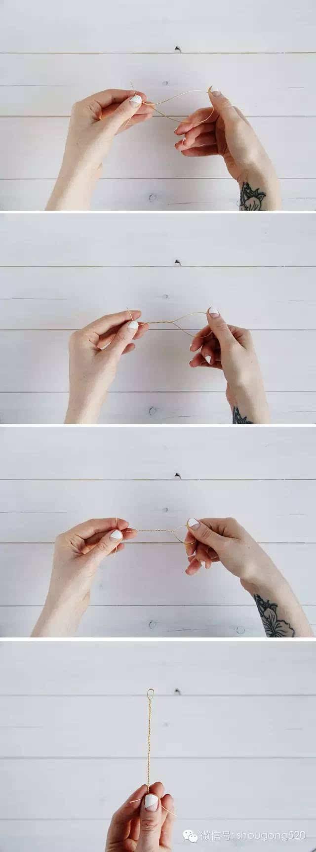 折纸兔子戒指步骤图解