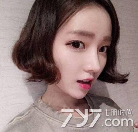 韩国烫发发型图片女短发 这六款足以掌握潮流