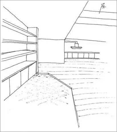 柜架结构建筑图纸