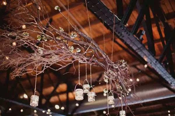 diy | 收集一些折断的树枝,制作属于自己的独特吊灯!