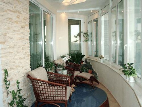 藏在家里的秘密花园 封闭式阳台效果图