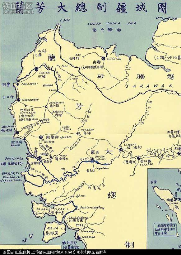 乾隆三十七年(1772),他从虎门放洋南渡,直抵婆罗洲西岸,经数年征战图片