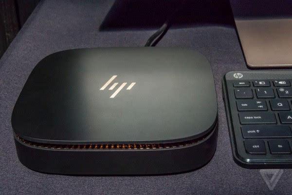惠普Elite Slice亮相:看桌面设备怎么玩模块化的照片 - 3