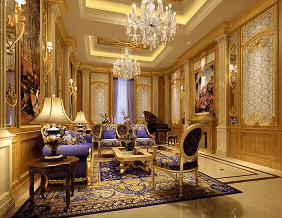 体验贵族生活 欧式别墅装修效果图图片