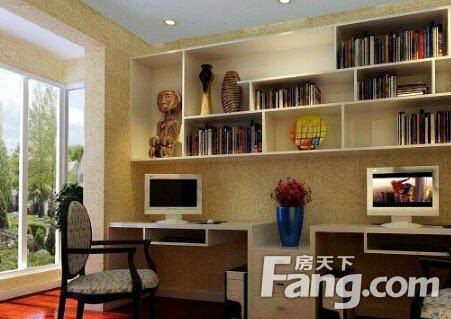 欧式风格书房设计要点是?现代简约装饰风格书房特点?