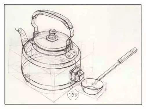 铅笔画教程步骤图解
