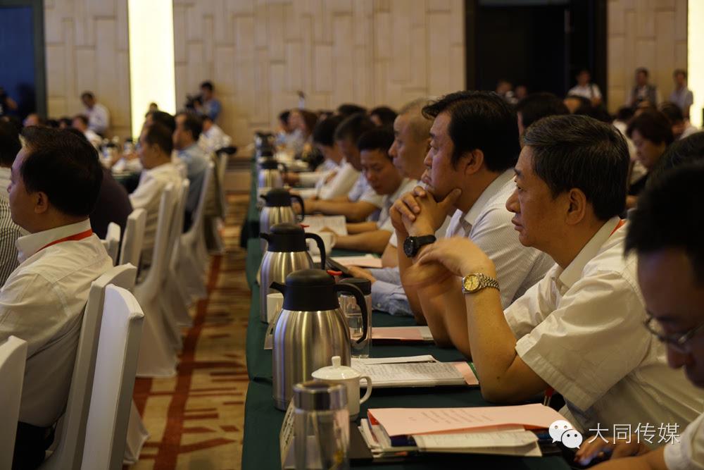 总经理李志伟、太原铁路局局长赵春雷等企业嘉宾先后发言.