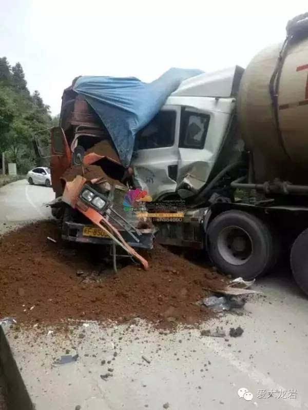 昨日龙岩又发生两起交通事故,现场惨不忍睹!