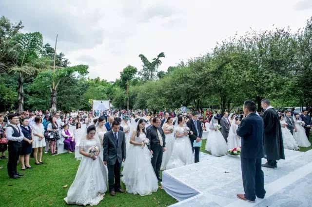 基督教美丽的新娘歌谱-基督徒婚礼,世界上最美的感动,现场20多人决志信主