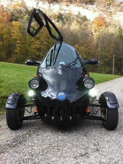 """来自东欧的""""大眼睛""""三轮电动车将登陆美国市场的照片 - 5"""