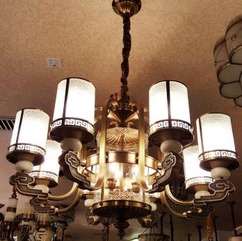 美式吊灯,新古典欧式水晶灯,全铜焊锡灯 《家居海淘》系列: 中式风格