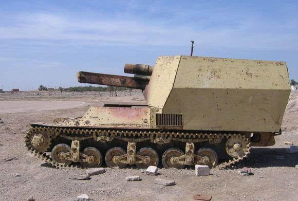 美军中东发现大批稀有坦克 组图