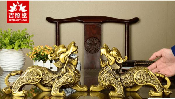 最招财的图片_常见的客厅招财摆件都有哪些