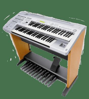 双排键(又称电子管风琴)图片