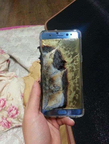 三星就Note 7电池爆炸致歉 将进行全球替换的照片 - 2