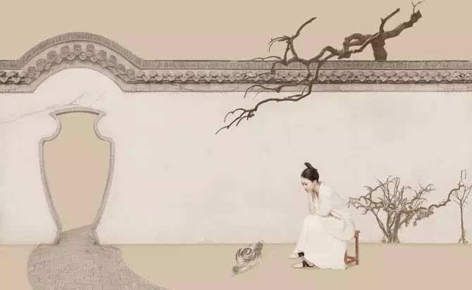 镜头里的中国风工笔画