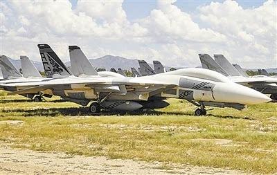 美国飞机坟场的退役战机