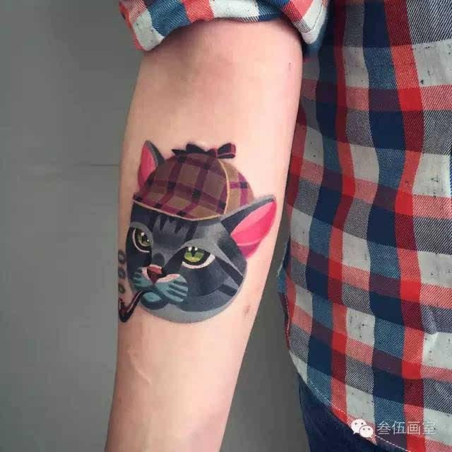 纹身手腕小图案意境