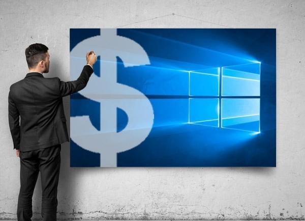 付费才能玩 微软为Windows 10确立全新商业模式的照片