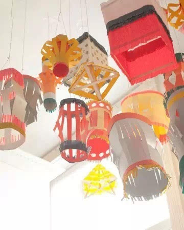 布角料创意灯笼,各种纸灯笼做法大全