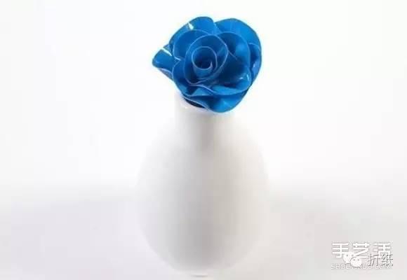 花瓶折法图解步骤