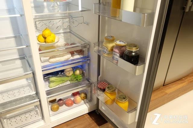 冰箱内部情况