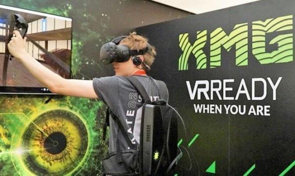 德国制造的VR背包电脑 配英特尔酷睿i7芯片的照片
