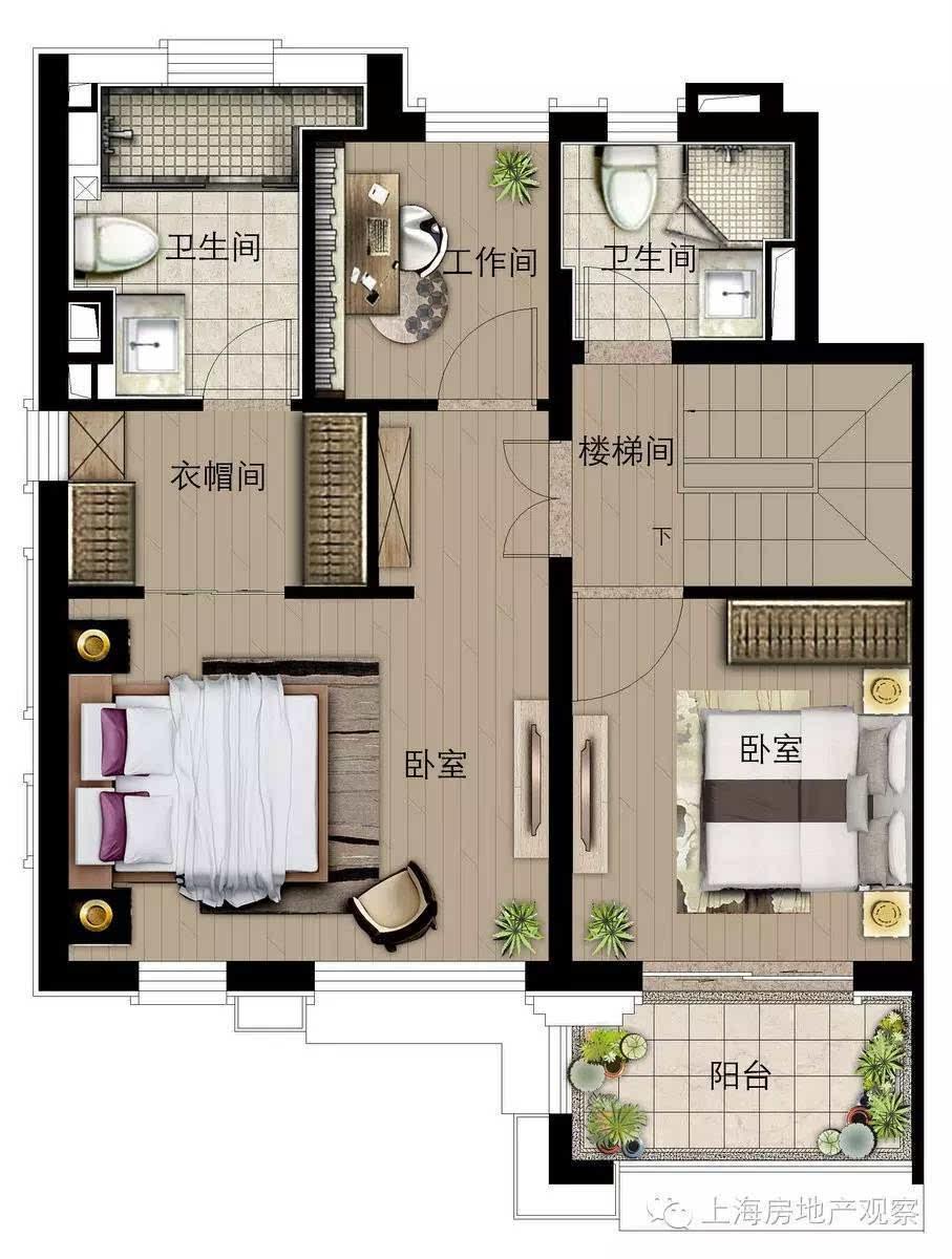 自建120平方房子设计图展示