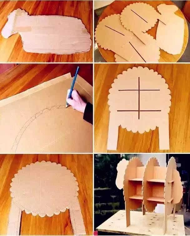 简单纸箱做小动物步骤图片