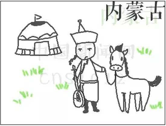 蒙古包简笔画-云南人骑大象上学的梗不孤单 全国各地都被狠狠伤过