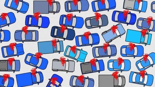 交通堵塞怎么办 交给无人驾驶去解决的照片 - 1