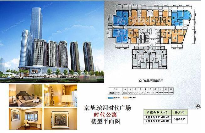 壹海城的商务公寓引进燃气实现住宅化,到商务公寓的大户型定位,到单元