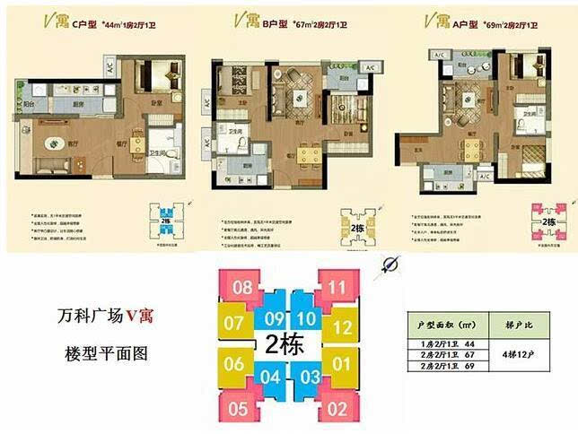 """商务公寓:""""单元式公寓""""将淘汰""""内廊式公寓""""图片"""