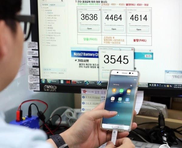 传三星青年工程师促成公司作出决定召回Galaxy Note 7的照片