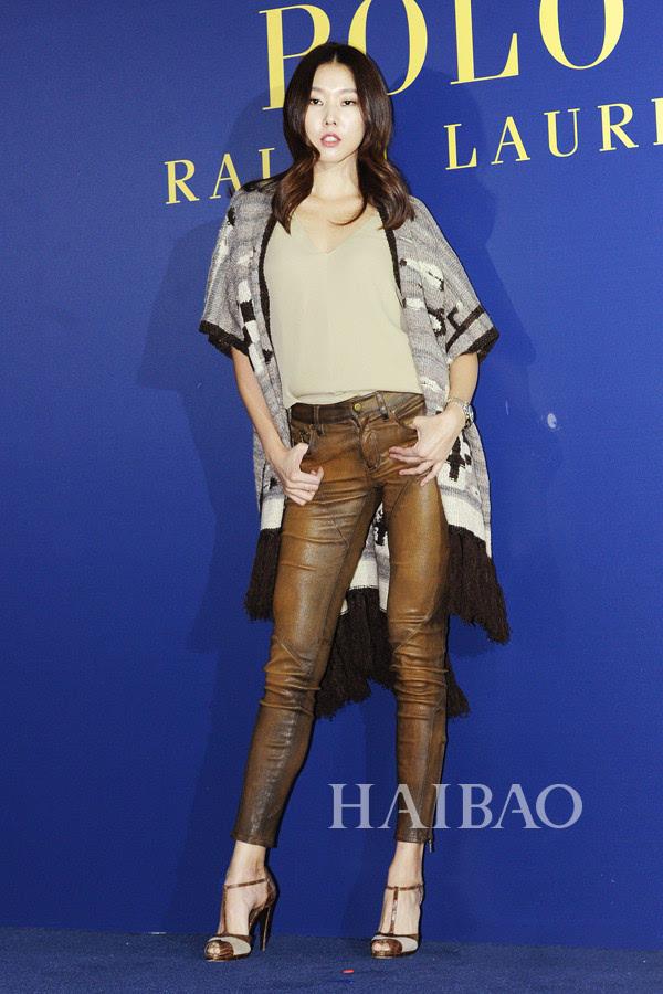 韩国模特韩惠珍现身polo ralph lauren韩国活动