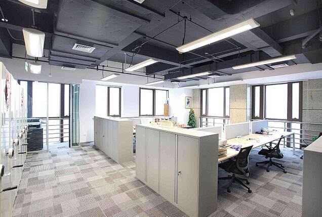 办公室无吊顶装修 办公室无吊顶装修效果图