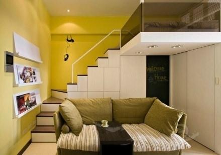 一居室小户型装修图 一居室小户型房子也能五脏俱全