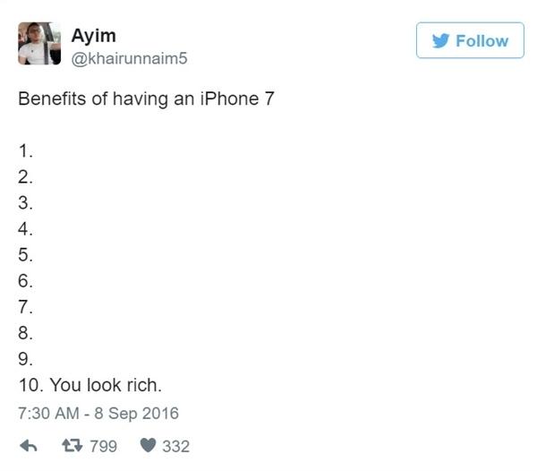 看老外如何吐槽iPhone 7和AirPods的照片 - 12