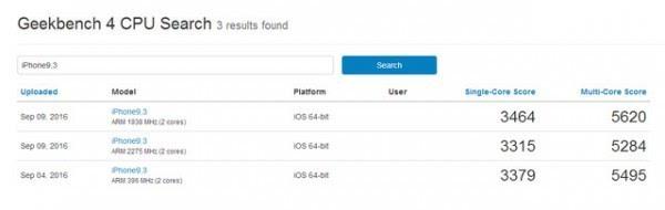 性能逆天 iPhone 7/7 Plus跑分批量出炉的照片 - 2