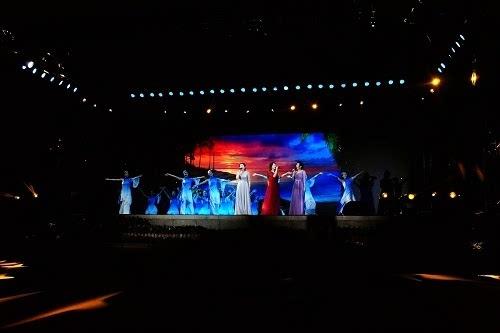 女声合唱《鼓浪屿之歌》(漯河广播电视台 马艾晨 摄)