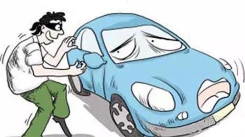 男子雨夜偷车 女友担心骑摩托车会冻感冒开汽车护送