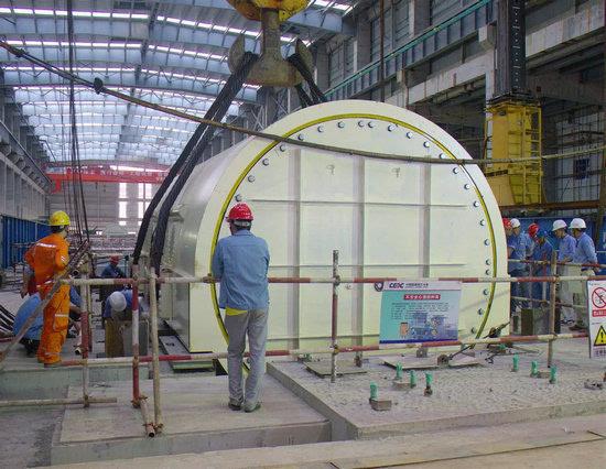 科技 正文  工程在国内百万燃煤机组中首次采用国产单列u型管高加