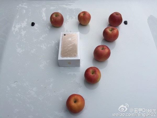 中国第一个拿到iPhone 7的人:上海/北京网友争第一的照片 - 1