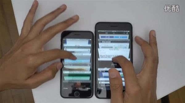 速度对比:2GB iPhone 7 挑战3GB iPhone 7 Plus的照片